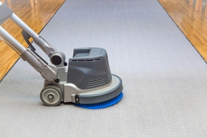 ako vyčistiť biely koberec